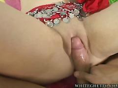 blowjob, hardcore, indian, natural, big-tits, large-breasts, cream-pie