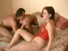3some, amateur, blowjob, brunette, german, interracial, kinky, threesome, girl-on-girl