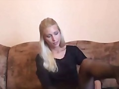blonde, blowjob, cumshot, czech, hardcore, homemade, pov, reality, squirt, footjob