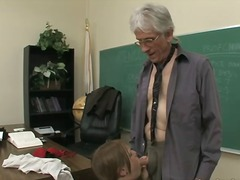 school, teacher, young, old, older, face-fucking, younger, classroom, daddy, cock-riding