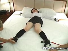 bdsm, bondage, interracial