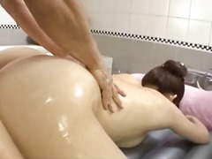 asian, ass, blowjob, brunette, doggystyle, bathroom, sucking, karin kusunoki