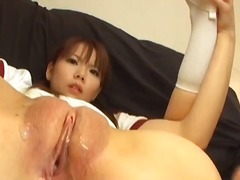 asian, brunette, speculum, pussy-eating, toys, t.y.