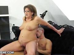 anal, babe, blowjob, cumshot, granny, hardcore, mature