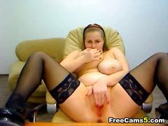 bbw, masturbation, tits, webcam, big