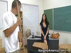 ass, black, facial, hairy, heels, job, pussy, teacher, tits, big