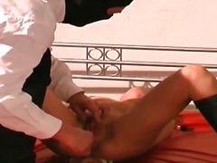 bdsm, wiązanie, brunetki, fetysze, masturbowanie, sutki, niewolnik, związani