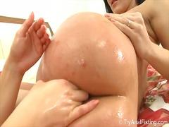 anal, ass, fisting, lesbian