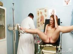 كاميرا حية, طبيب النساء, منظار, في الشغل, خبيرات, ذكور