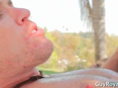 anal, babe, blowjob, brunette, gay, hardcore, hunk, fucking, studs, outdoors