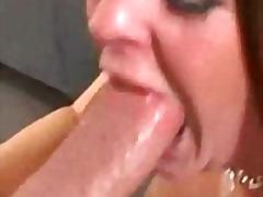 blowjob, brunette, brutal, cock, deep, deepthroat, face, oral, whore, gagging