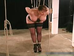 rollenspiele, bondage, fetish, sklave, angebunden, titten