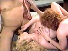 cu, hardcore, trans, sexo a três, vintage, mulher