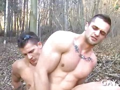anal, ass, gay, fucking, outdoors