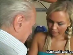 blonde, brunette, facial, hairy, mature, threesome, old, men, europeans