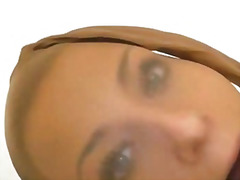 babe, blonde, face, fetish, masturbation, pantyhose, tight, nylons, mask, spandex