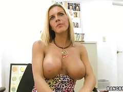 blonde, casting, mature, milf, school, tits, work, boobs, big, nice
