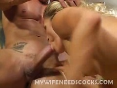 big boobs, blonde, busty, clit, cunnilingus, cunt, finger, fisting, hairy, hardcore