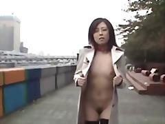 азиатки, японки, на публике