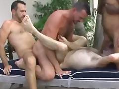 anal, ass, dp, ebony, gangbang, gape, group, interracial, rimjob, fucking