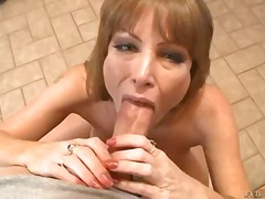 Darla Crane, big boobs, big cock, big ass, brunette, busty, cock, ejaculation, handjob, jerking