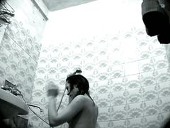 hidden, naked, shower, spy, voyeur, girls, bathroom, candid