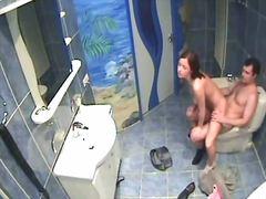 hardcore, hidden, nude, oral, spy, voyeur, bathroom