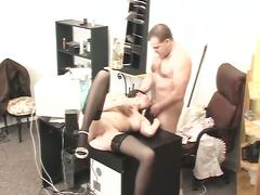 boss, hardcore, hidden, office, oral, spy, voyeur, stockings