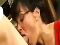 Lisa Ann, big boobs, big ass, busty, cougar, facial, glasses, housewife, italian, lingerie, milf