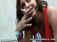 فتشية, نيك قوى, لاتينيات, قوة, تدخين, أسبانيات