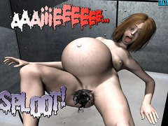 anal, big boobs, cartoon, group, penetration, boobs, big, double
