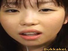 aziatisch, kont, ejaculatie, zaadlozing, tiener