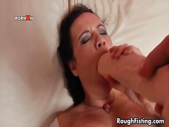 anal, bbw, brunette, extreme, fisting, hardcore, rough, double