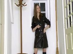 amateur, black, boots, brunette, fetish, strip, peeing