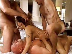 anal, facial, group, mature, penetration, double