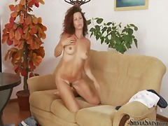 Silvia Saint, loura, peitos naturais, ruiva, mini peitos, mamas