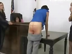 spanking, tall, jail, lezdom