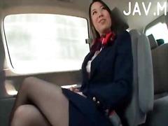 آسيوى, في السيارة, يابانيات, خارج المنزل, لعبة