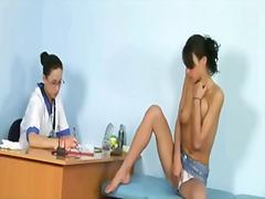 фаллоимитаторы, у доктора, фетиш, гинеколог