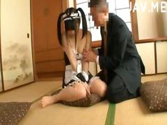 asiático, fetiche, japonês, mini peitos, provocante, mamas, peitões