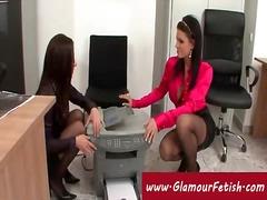 lesbianas, oficinistas, secretarias