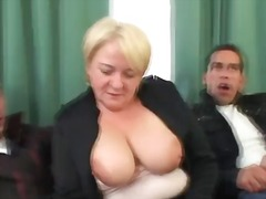 blonde, granny, housewife, mmf, mom, mother, reality, threesome, grandma, oldies