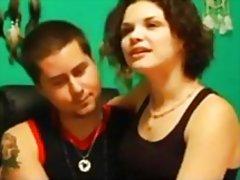 casal, massagem