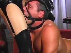 fetish, latex, lingerie, pussy, redhead, stockings, fucking