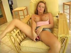 babe, masturbation, orgasm, pussy, rubbing, shaved, tits, wet, big, toys