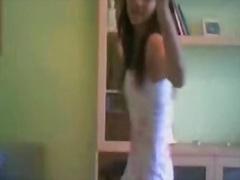 ცეკვა, გოგო, სახლში დამზადებული