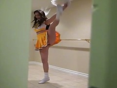 cheerleader, uniform, meisje