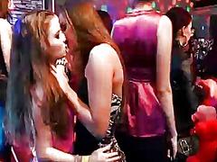 نساء هائجات, واقعى, بنات, حفلة