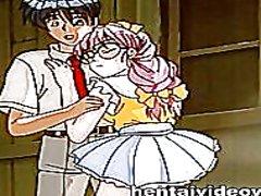 cartoon, couple, hentai, animation